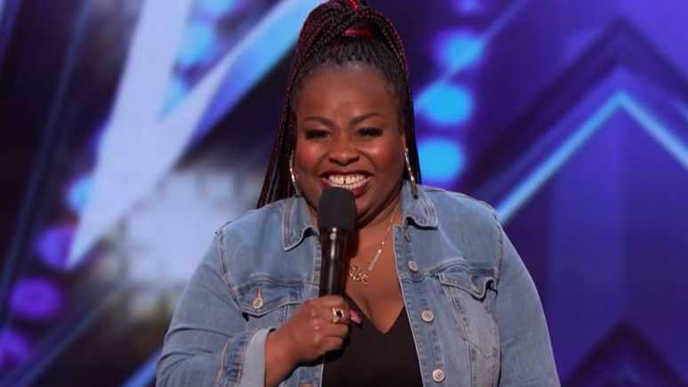 Jackie Fabulous on America's Got Talent