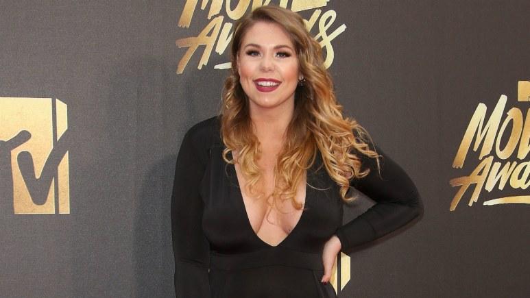 Kailyn Lowry. 2016 MTV Movie Awards held at Warner Bros. Studios.