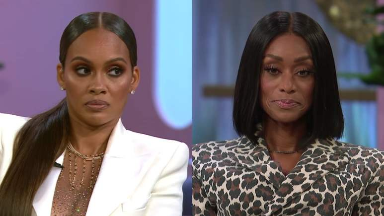 Evelyn Lozada and Tami Roman on the Basketball Wives reunion
