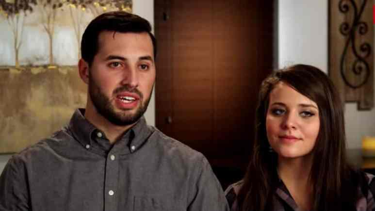 Jeremy and Jinger Vuolo during a Counting On confessional.