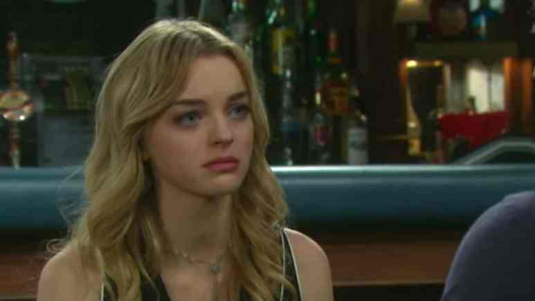 Olivia Rose Keegan as Claire on Days of our Lives.