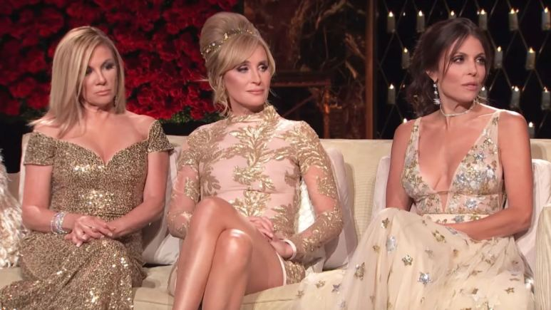 Ramona Singer, Sonja Morgan and Bethenny Frankel on Real Housewives of New York