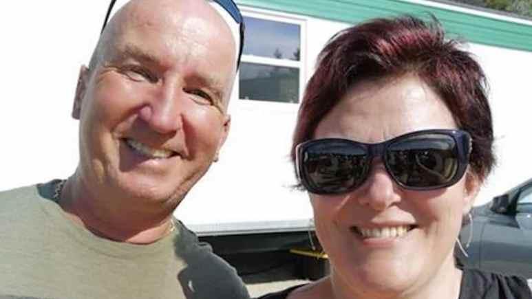 Gary Drayton and Natalie Rousselle