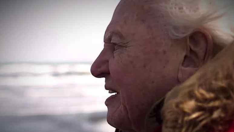 Sir David Attenborough rocks Glastonbury with Seven Worlds, One Planet trailer. Pic credit: BBC America