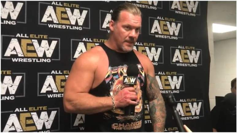 Chris Jericho takes photo with WWE superstar, saying 'big things coming' and tags AEW
