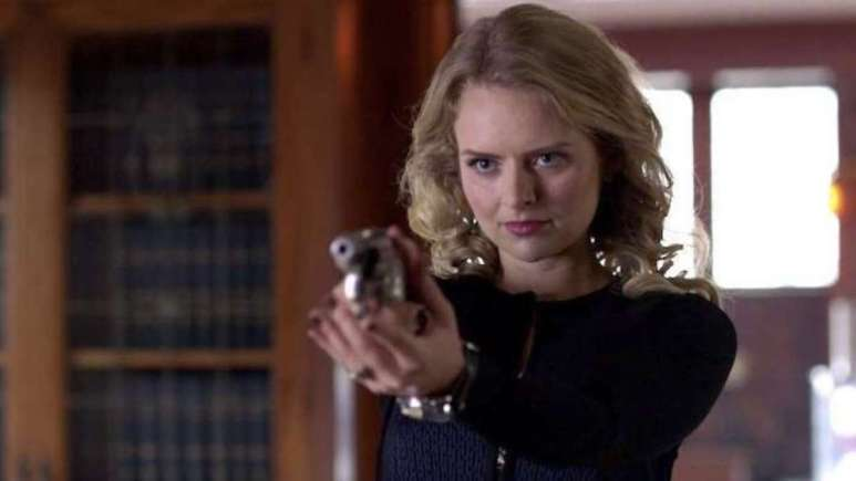 Andrea Brooks as Eve Teschmacher in Supergirl