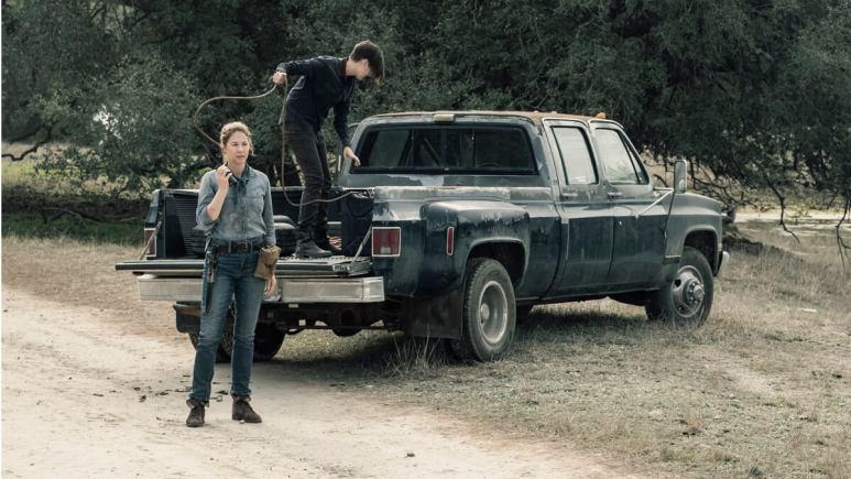 Al and June on Fear the Walking Dead