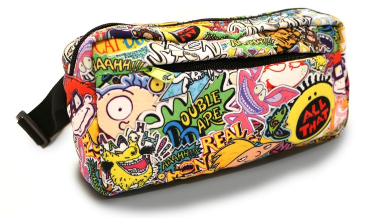 Fannypacks are so useful and this one can be seen a mile away! Pic credit: Nickelodeon