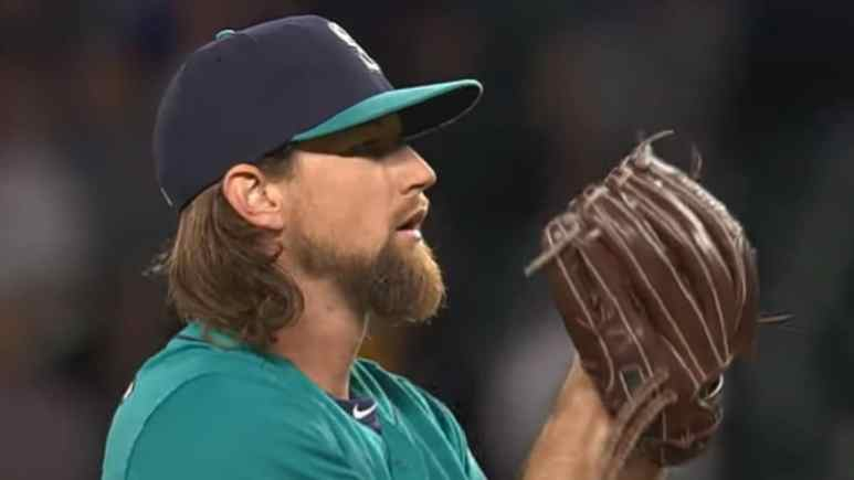 Mike Leake With Seattle Mariners