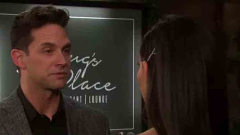 Brandon Barash and Camila Banus as Stefan and Gabi on Days of our Lives.