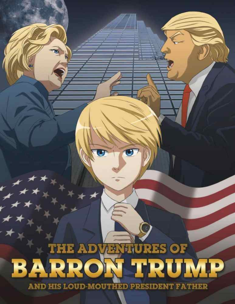The Adventures of Barron and his Loud-Mouthed President Father