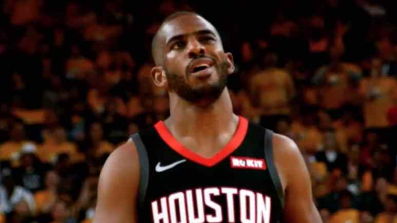 former houston rockets player chris paul