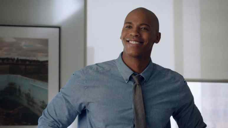 Mehcad Brooks as James Olsen on Supergirl.