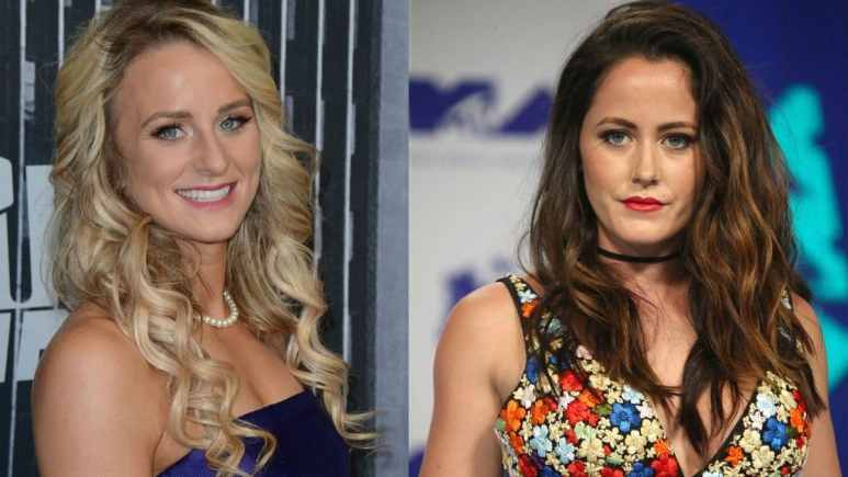 Leah Messer and Jenelle Evans