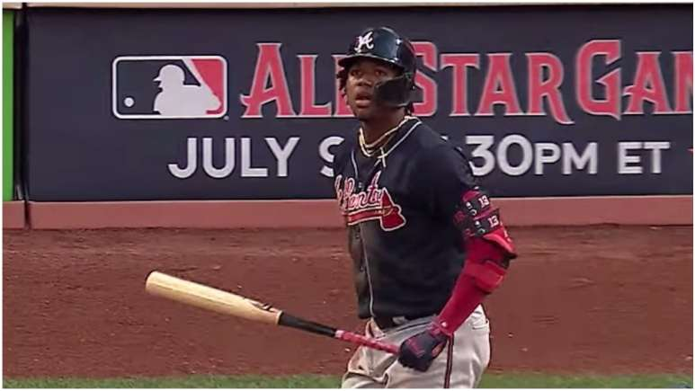 atlanta braves star ronald acuna jr was among home run derby contenders