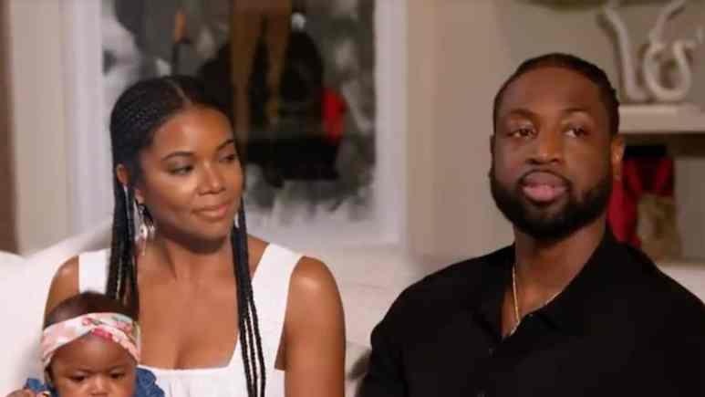 gabrielle union and husband dyane wade