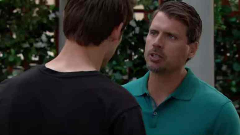 Mark Grossman and Joshua Morrow as Adam and Nick on The Young and the Restless.