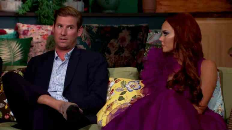 Austen Kroll and Kathryn Dennis on Southern Charm.