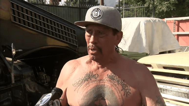 Danny Trejo interviewed by ABC7