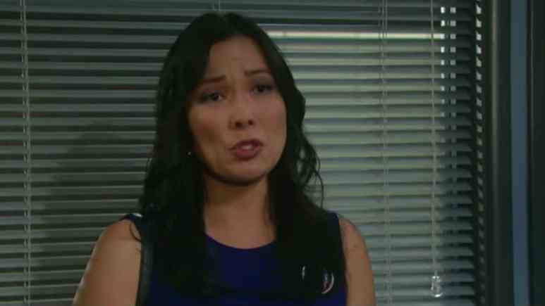 Laura Kai Chen as Melinda on Days of our Lives.