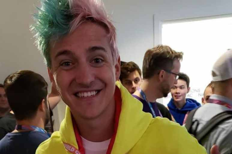 Tyler Blevins, aka Ninja at the Fortnite World Cup