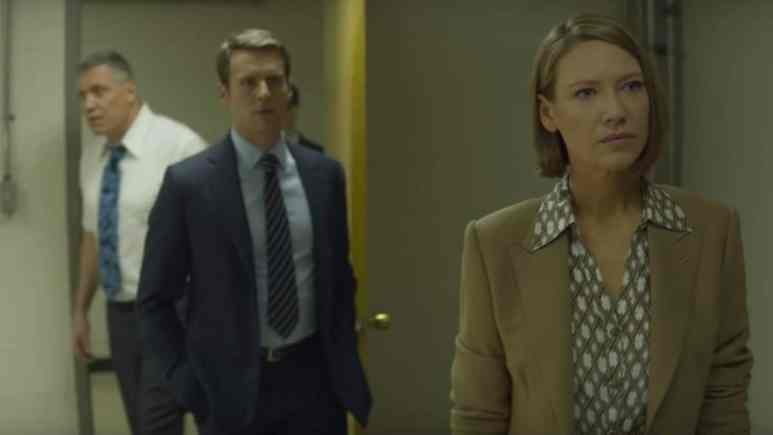 Ford, Tench, and Dr. Carr on Mindhunter Season 2