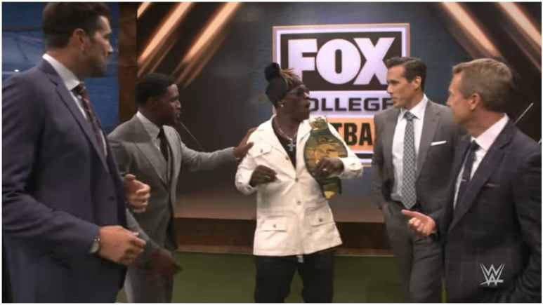 R-Truth wins 24/7 title at Fox Sports event