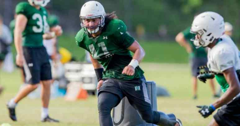Hawaii starts NCAA season by honoring death of former teammate Scheyenne Sanitoa