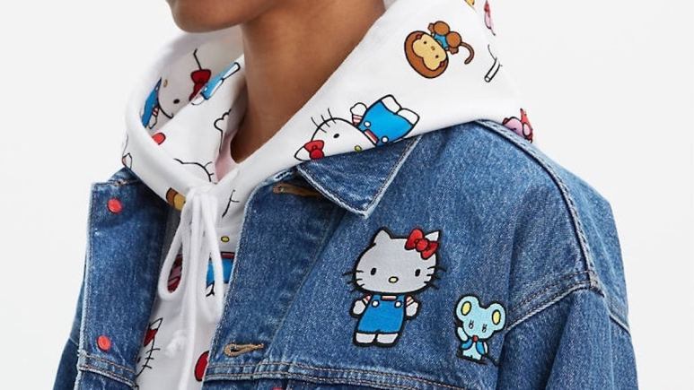 Super Kawaii Levi's x Hello Kitty collection
