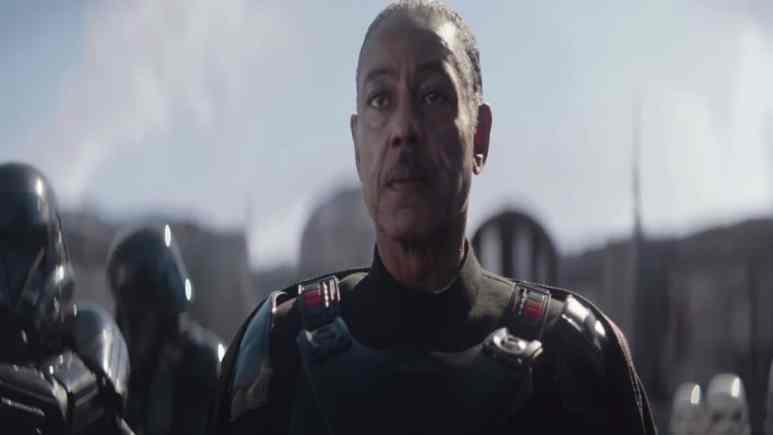 Giancarlo Esposito as Moff Gideon. Pic credit: Lucasfilm.