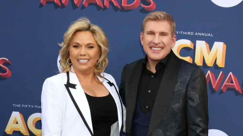 Todd and Julie Chrisley at the ACM Awards.