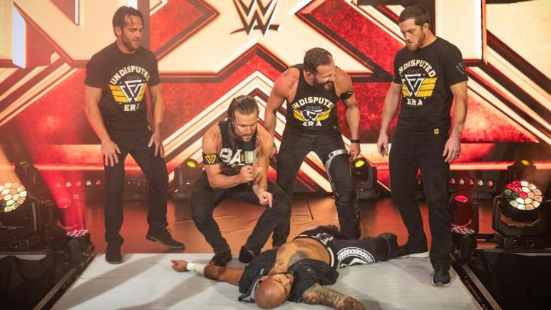 WWE NXT title changes hands at recent NXT television tapings