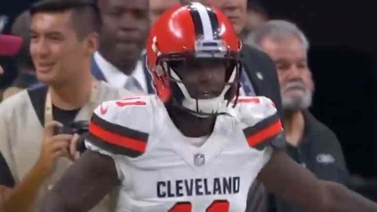 antonio callaway of the cleveland browns