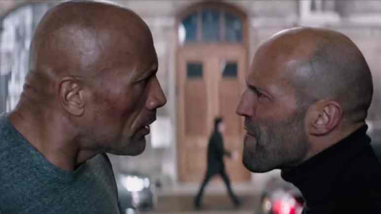 the rock and jason statham appear in hobbs & shaw