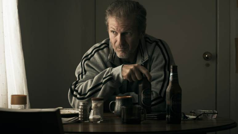 Bruce (Nicholas Cassim) plays Bruce, Ray's big brother who is ailing. Pic credit: FX