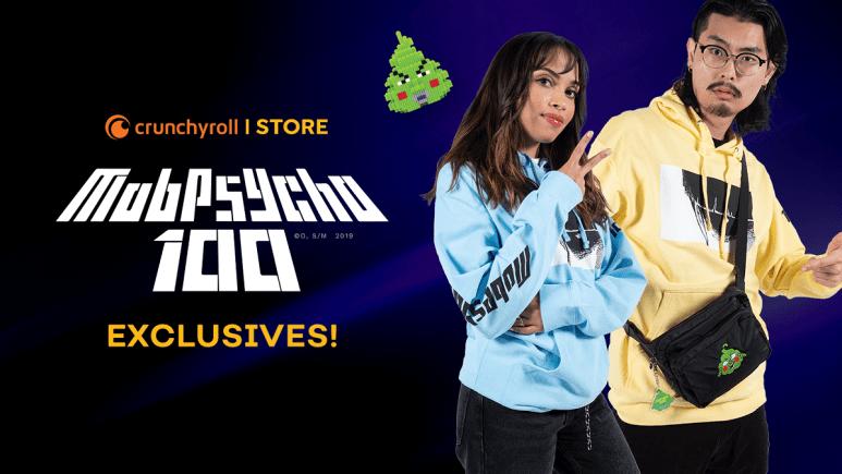New Mob Psycho 100 x Crunchyroll fashion collection