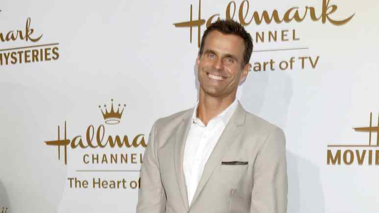 Cameron Mathison at the TCAs.