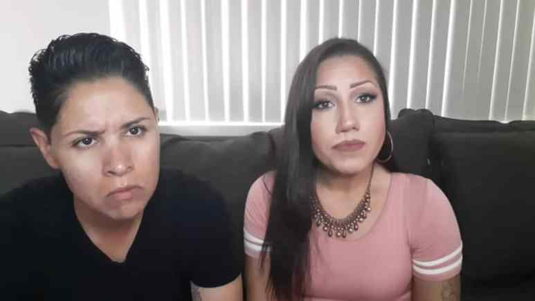 Jenn and Christina on their YouTube channel
