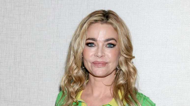 Denise Richards at a fan club event.