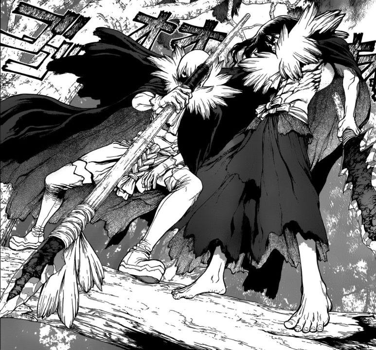 Dr. STONE Manga Characters Tsukasa Hyoga