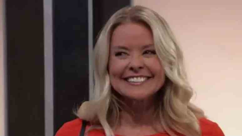 Kristina Wagner as Felicia on General Hospital.