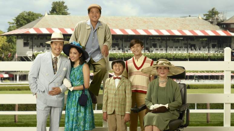 The cast from Fresh Off the Boat
