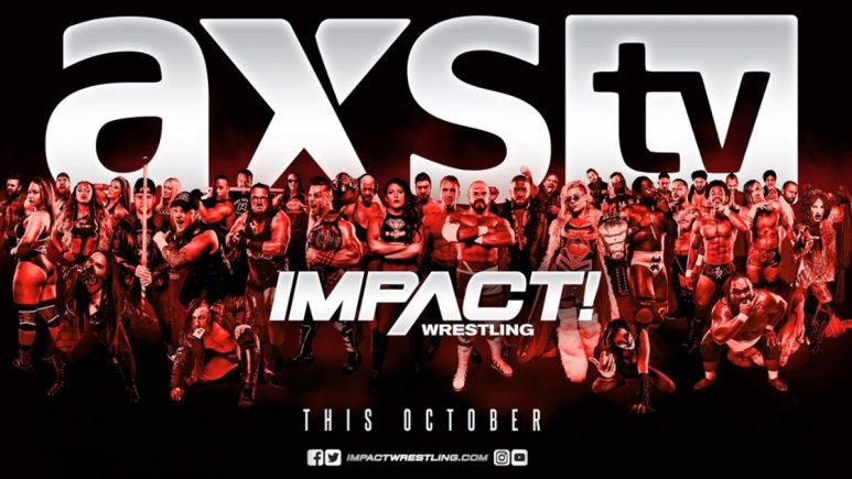 IMPACT Wrestling officially announces when they will move to AXS TV