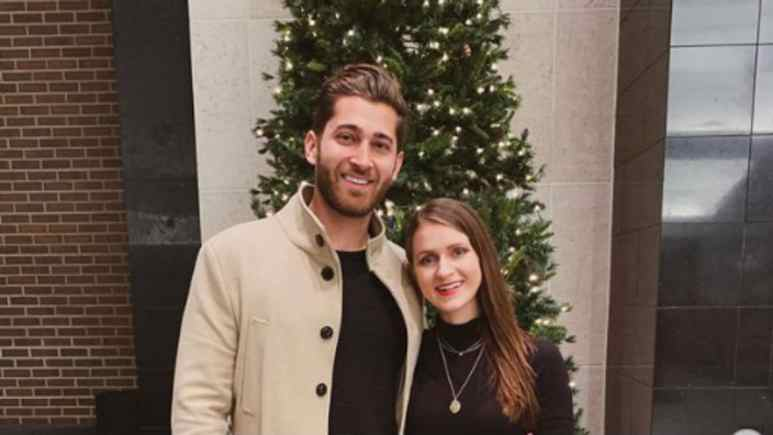 Jared Black and fiancee Rebecca Broxterman.