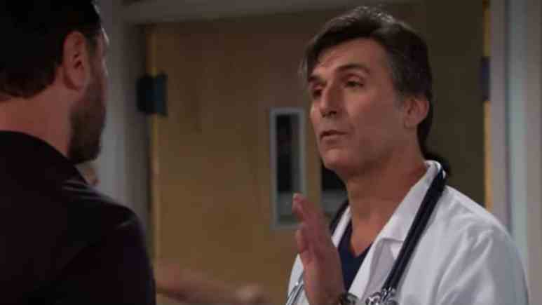 Vincent Irizarry as Dr. Armstrong on The Bold and the Beautiful.