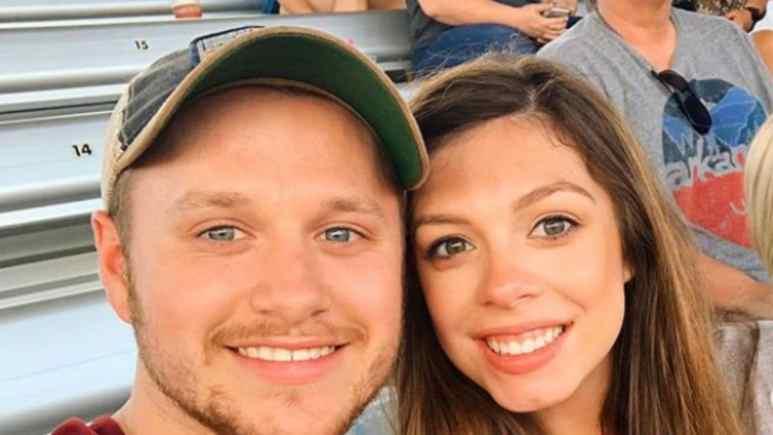 Josiah and Lauren Duggar selfie.