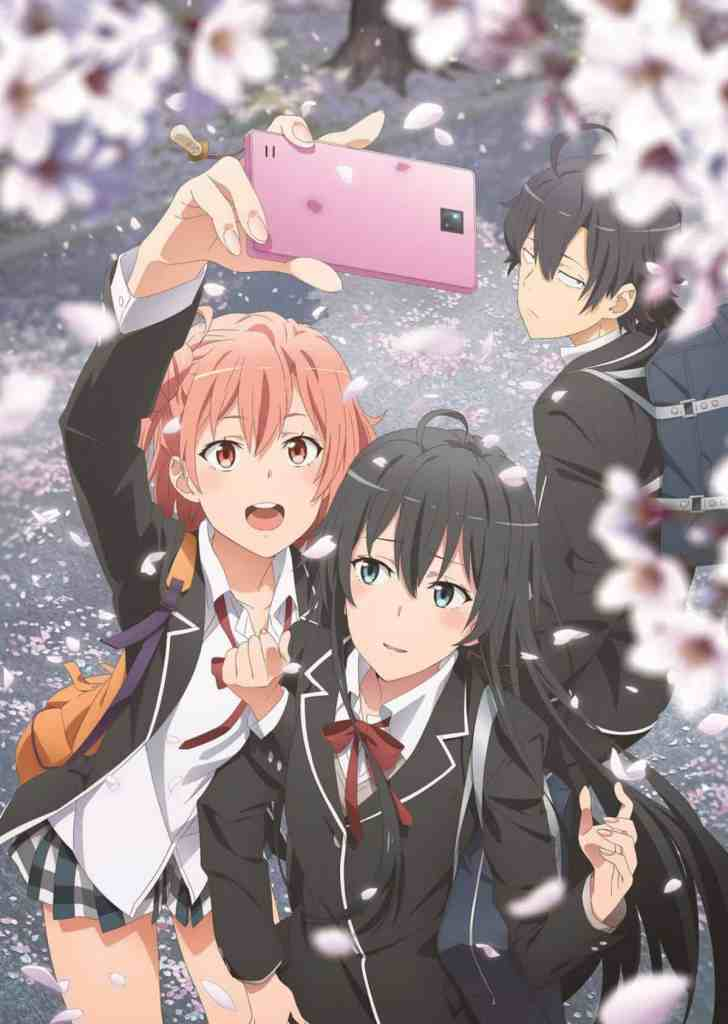 My Teen Romantic Comedy SNAFU Season 3 Key Visual Art