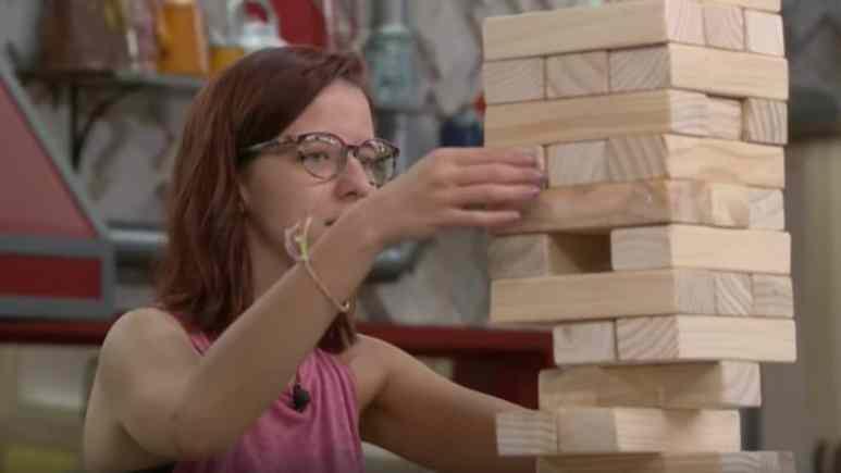 Nicole Plays BB21 Jenga