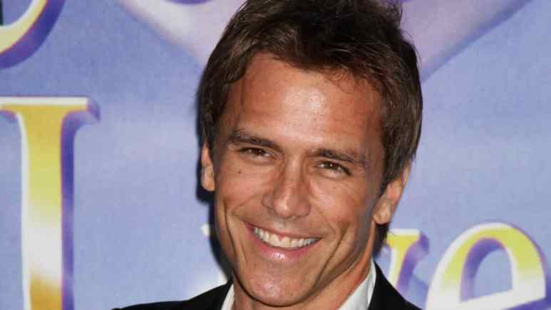 Scott Reeves at a Days of our Lives party.