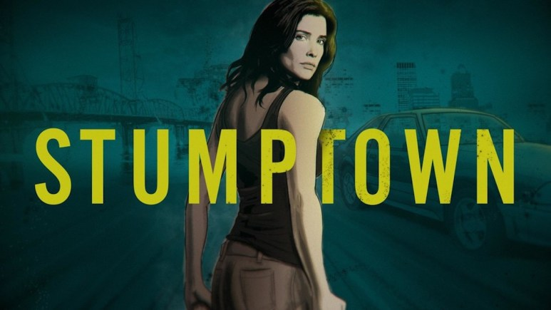 Cobie Smulders starring in Stumptown